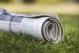 Newspaper delivery completed