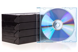 Tape and dvd video storage