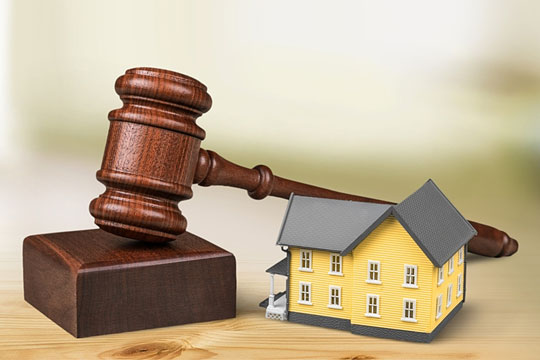 Home being sold at auction