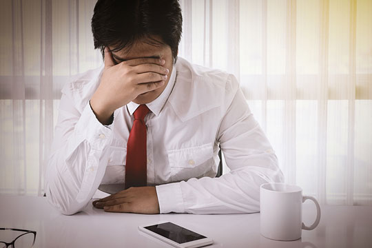 Business owner with bankruptcy problems