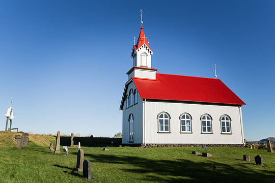 Country church with a steeple