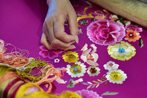 Embroidery photo