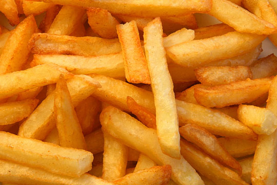 Yummy-looking french fries