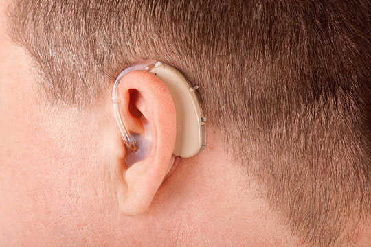 Hearing aid for the hard-of-hearing