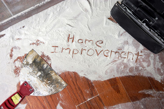 Improvements being done in a home
