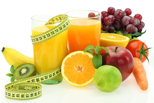 Good nutrition from fruit