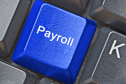 Keyboard payroll key