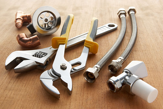 Plumbing parts and tools