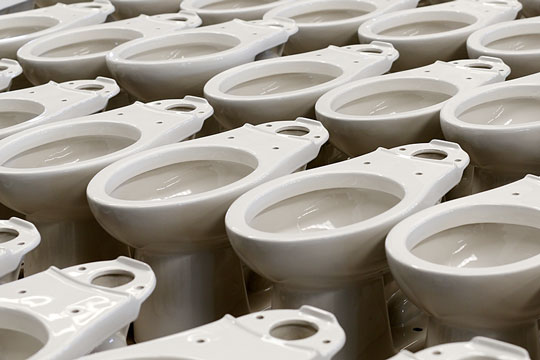 Sanitary ware - porcelain toilet bowls