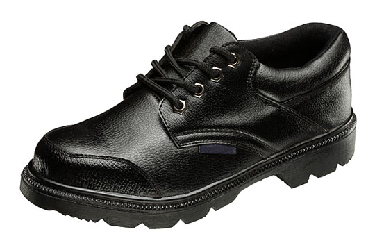 Black work shoe