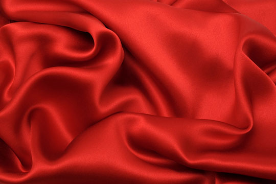 Soft silk fabric