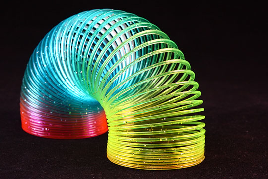 Fun slinky toy